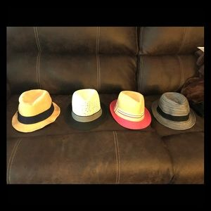 fidora hats - all in perfect clean, new shape